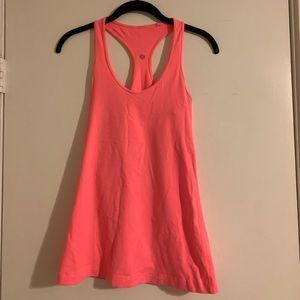 Bright Pink/Coral Lululemon Tank